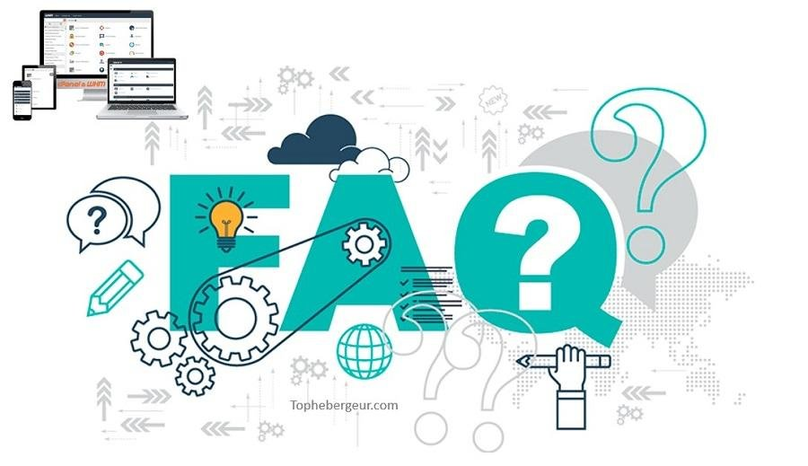 FAQ revendeur hébergement Web