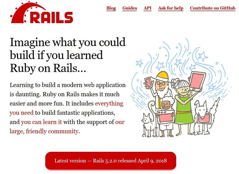 ruby-on-rail-page-accueil