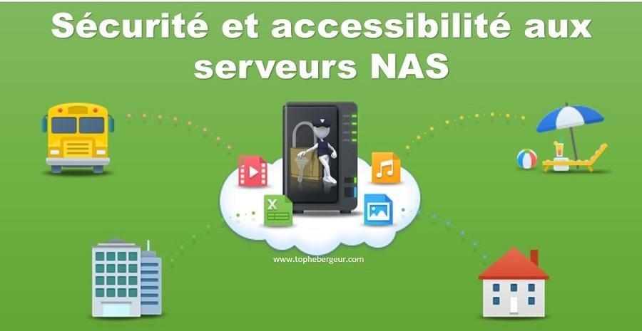 Sécurité et accessibilité Serveur Synology NAS