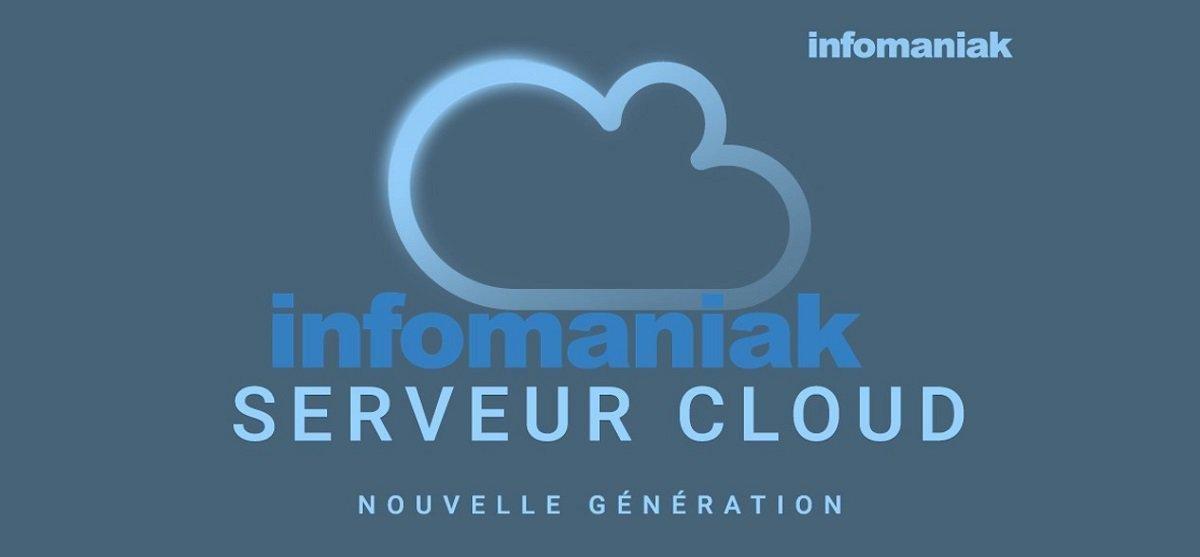 Serveur cloud chez Infomaniak