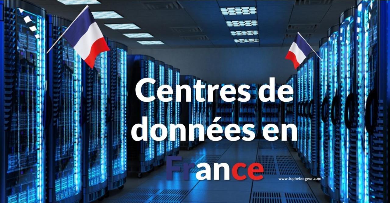 Serveur dédié dans un centre de données localisé en France