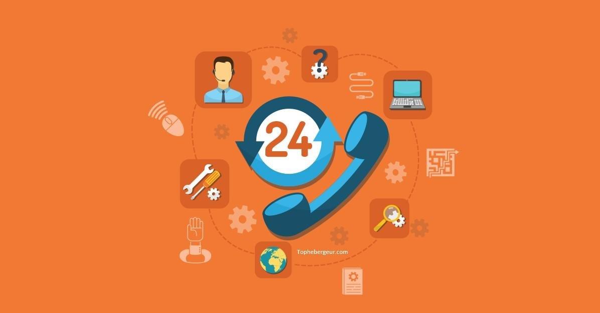 Cherchez un hébergeur de serveur dédié offrant un service client 24/7