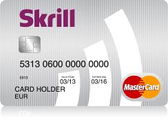 Skrill (moneybooker) mastercard prépayé