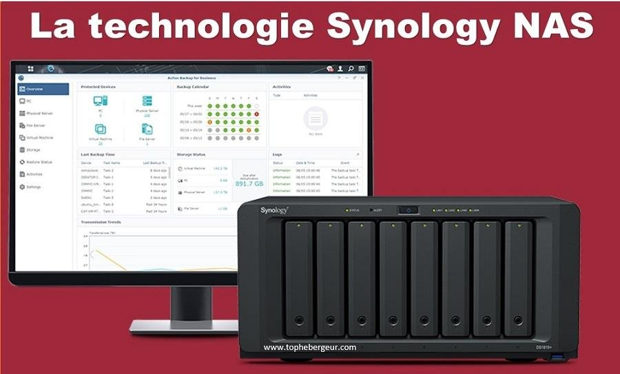 La technologie Synology NAS
