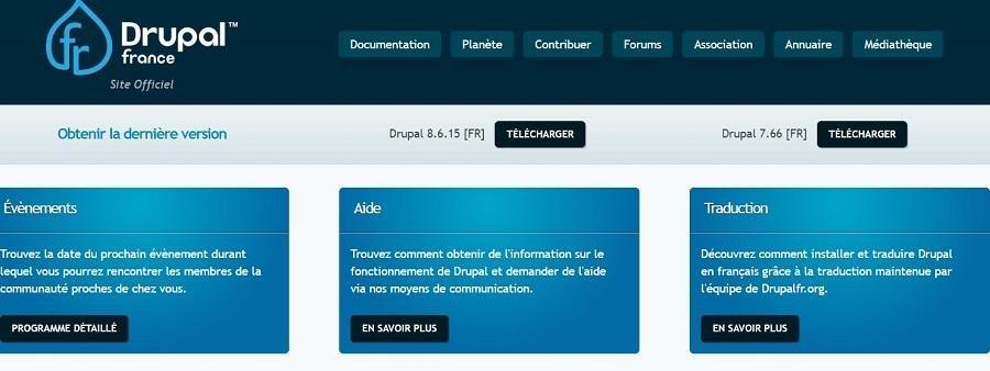 Téléchargez Drupal en Français