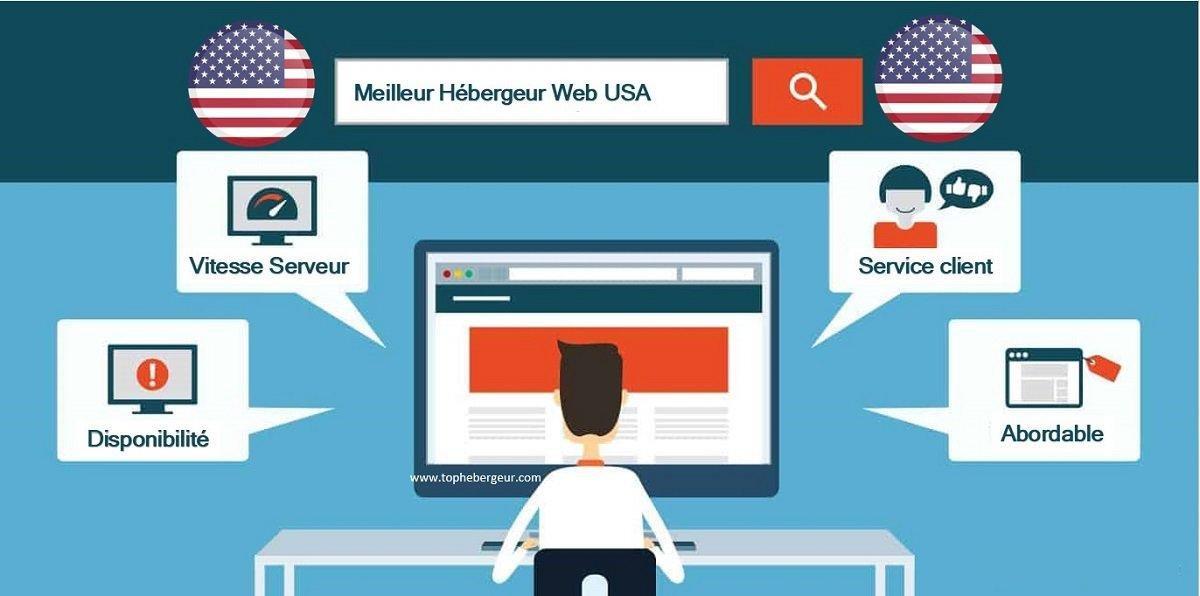 Chercher le meilleur hébergement web aux USA