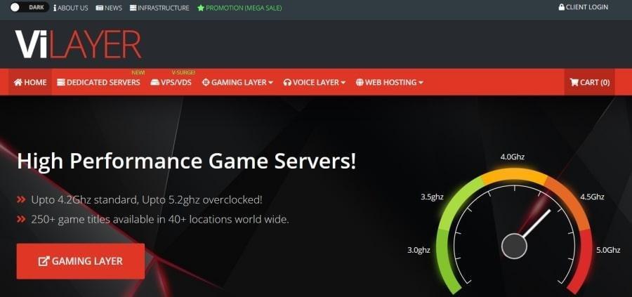 Vilayer game server